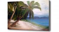 """Картина """"Пальмы и море"""""""